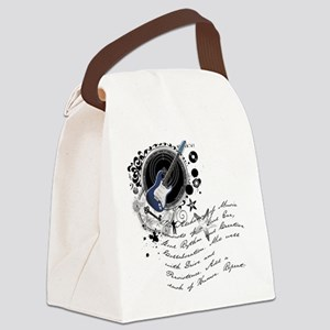 musician2 Canvas Lunch Bag