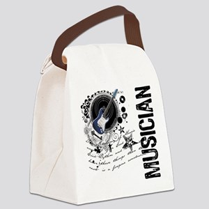 3-musician1 Canvas Lunch Bag