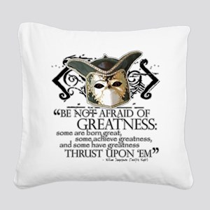 Twelfth Night 2 Square Canvas Pillow