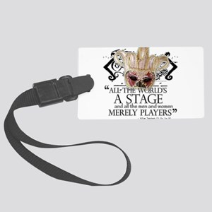 as you like it 2 Large Luggage Tag