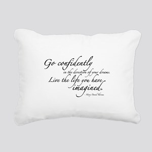 THOREAU2 Rectangular Canvas Pillow
