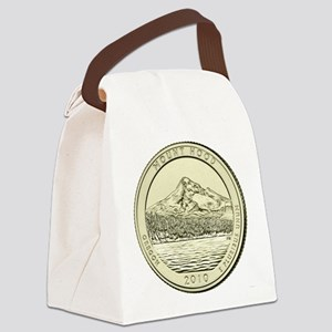Oregon Quarter 2010 Basic Canvas Lunch Bag