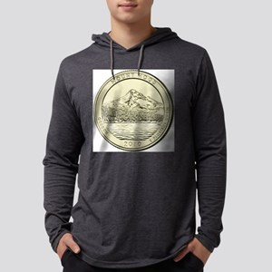 Oregon Quarter 2010 Basic Mens Hooded Shirt