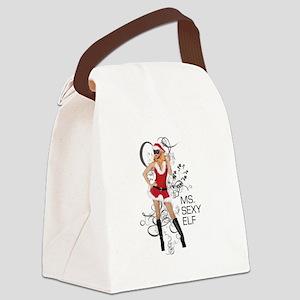 MsSexyElf Canvas Lunch Bag