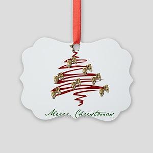 Drama Tree Picture Ornament