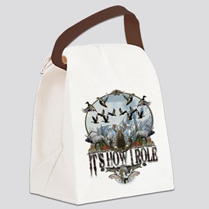 It's how I role Canvas Lunch Bag