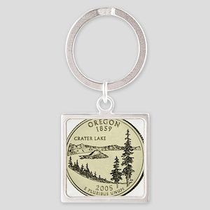 Oregon Quarter 2005 Basic Keychains