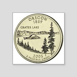 Oregon Quarter 2005 Basic Sticker