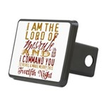 TwelfthNight Rectangular Hitch Cover