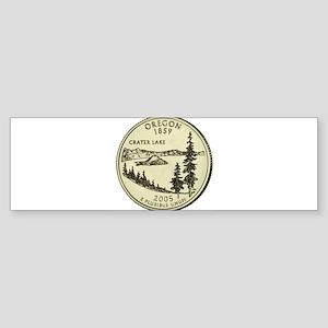 Oregon Quarter 2005 Basic Bumper Sticker