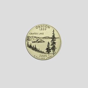 Oregon Quarter 2005 Basic Mini Button