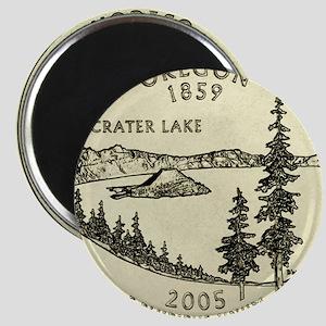 Oregon Quarter 2005 Basic Magnets