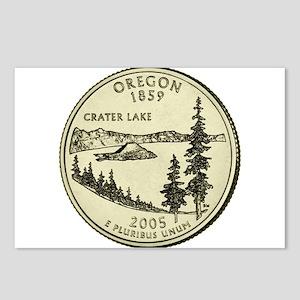 Oregon Quarter 2005 Basic Postcards (Package of 8)