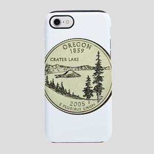 Oregon Quarter 2005 Basic iPhone 7 Tough Case