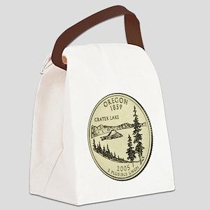 Oregon Quarter 2005 Basic Canvas Lunch Bag