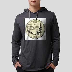 Oregon Quarter 2005 Basic Mens Hooded Shirt