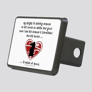 knight1 Rectangular Hitch Cover