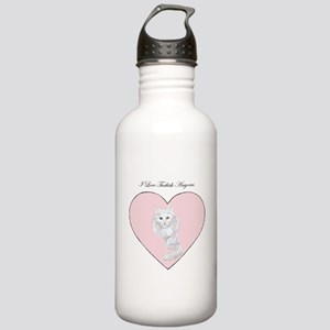 I Love Turkish Angoras Stainless Water Bottle 1.0L