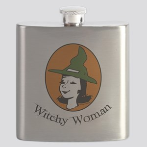 Witchy Woman Flask