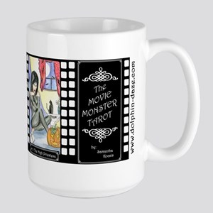 Movie Monster Tarot Large Mug