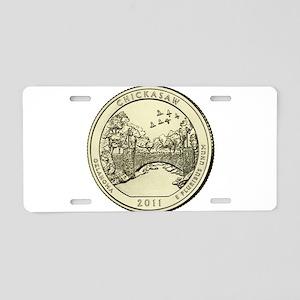 Oklahoma Quarter 2011 Basic Aluminum License Plate