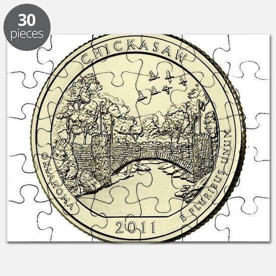 Oklahoma Quarter 2011 Basic Puzzle