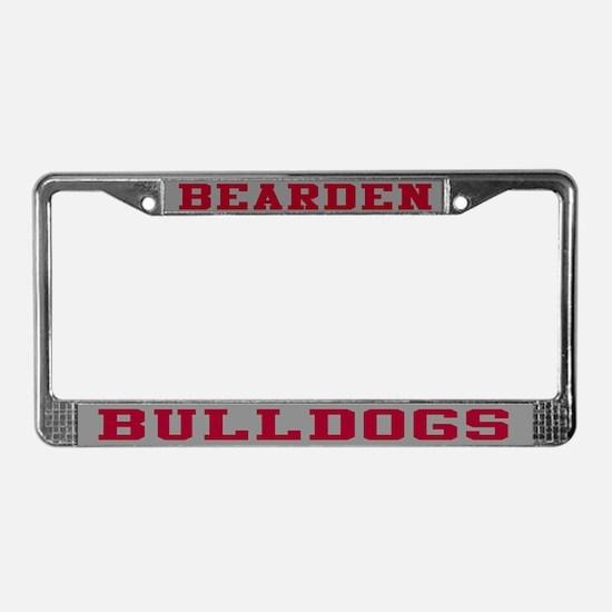 Bearden Bulldogs License Plate Frame