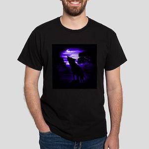 Wolf Howling copy Dark T-Shirt