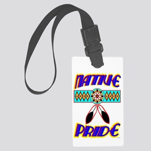 NATIVE PRIDE Large Luggage Tag