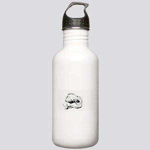 He is waiting Stainless Water Bottle 1.0L