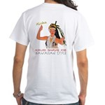 luau Girl white T-Shirt