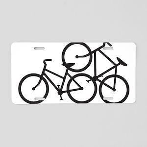 Bike Love Aluminum License Plate
