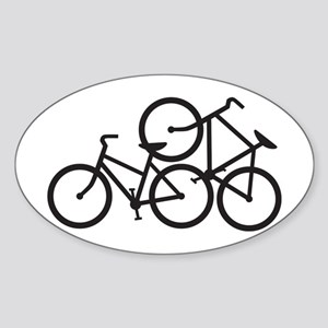 Bike Love Sticker (Oval)