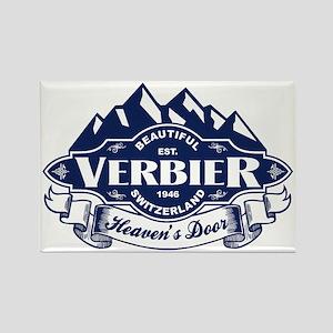 Verbier Mountain Emblem Rectangle Magnet