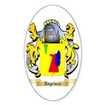Angelozzi Sticker (Oval 50 pk)