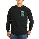 Anger Long Sleeve Dark T-Shirt
