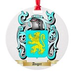 Anger Round Ornament