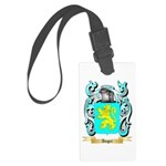 Anger Large Luggage Tag