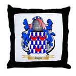 Anger 2 Throw Pillow