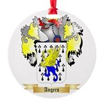 Angers Round Ornament