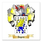 Angers Square Car Magnet 3