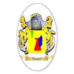 Anghel Sticker (Oval)