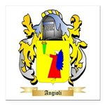 Angioli Square Car Magnet 3