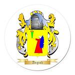 Angioli Round Car Magnet