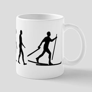 Evolution Cross country skiing Mug
