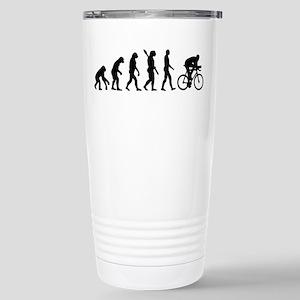 Evolution cycling bike Stainless Steel Travel Mug