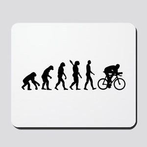 Evolution cycling bike Mousepad