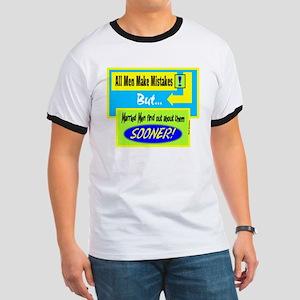 All Men Make Mistakes-Red Skelton/t-shirt Ringer T