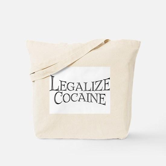 Legalize Cocaine Tote Bag