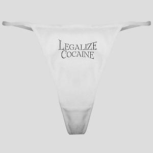 Legalize Cocaine Classic Thong